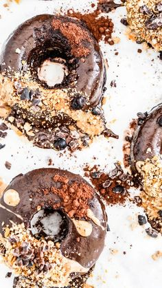 Vegan Oil-free Softfbaked Coconut Donuts by WHEN SWEET BECOMES HEALTHY