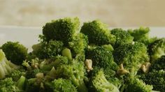 Broccoli with Garlic Butter and Cashews Video