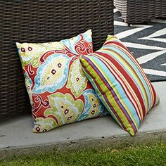 Canadian Tire, My Canvas, Oasis, Decorating Ideas, Cushions, Throw Pillows, Luxury, Summer, Outdoor