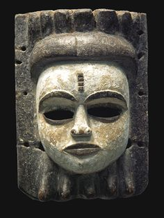 Annang Mask culture of the southern zone of Nigeria Arte Tribal, Tribal Art, African Masks, African Art, Art Premier, Art Africain, Cool Masks, Art Sculpture, Historical Artifacts