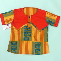 Kente print shirt by Bayabs