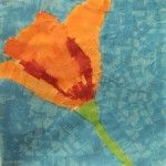 Georgia O'Keefe Art Study – Poppy Collage Art Project
