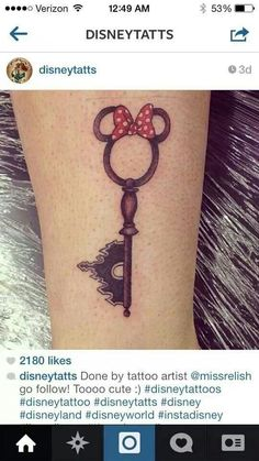 Disney tattoo - My grandaughter would love this on me lol. Not sure if I would have it but I think its cool.
