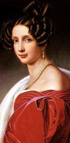 Sophie Friederike Dorothee Wilhelmine, Princess of BavariaSophie of Bayern, Archiduchess of Austria, 1841, Joseph Karl Stieler .Princess Sophie of Bavaria was the eldest daughter of King Maximilan I of Bavaria and his second wife, Princess Caroline of Baden. She was thus a half-sister to King Ludwig I. She was also the mother of the future Emperor Franz Joseph of Austria.
