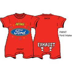 Ford Mustang Baby Clothes