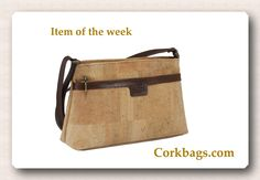 Compact size and go-to ease make this cork bag an everyday essential.