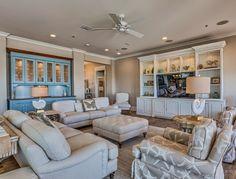 coastal family room | The Veranda - Gulf Shores, Alabama