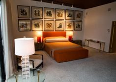 Tour of Frank Sinatra's bedroom. Part of an amazing Palm Springs weekend, sponsored by Cadillac's New ELR.