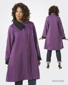 Janska's Natalie Coat is Brand New & Perfect for Any Season www.janska.com #reversible #absolutelygorgeous