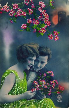 Vintage Romance Postcards of the 1920s