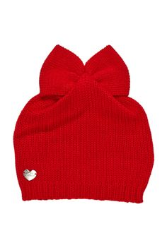 Betsey Johnson Bow Beanie by Betsey Johnson on @nordstrom_rack