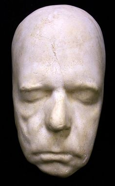 Walt, why the long face? Scott, Walter, Sir, 1771-1832  death mask, from the original by G. Bullock at Abbotsford.