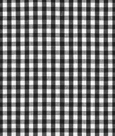 """Shop 1/4"""" Black and white Gingham Fabric at onlinefabricstore.net for $3.75/ Yard. Best Price & Service."""