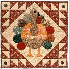 Turkey Feathers available at Quilters Warehouses where many Applique like Turkey Feathers can be found. Hanging Quilts, Quilted Wall Hangings, Quilting Projects, Quilting Designs, Quilt Design, Quilting Ideas, Fall Sewing, Halloween Quilts, Fall Quilts