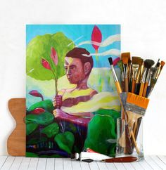 art paintings landscape abstract portrait Paintings