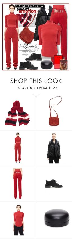 """""""SVMoscow"""" by ane-twist ❤ liked on Polyvore featuring Undercover, The Row, Vetements, DRKSHDW, Ann Demeulemeester and svmoscow"""