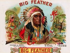 Indian - Big Feather
