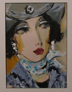 Cowgirl I by George Hamilton - Zantman Art Galleries - Fine art gallery in Carmel, CA George Hamilton, Fine Art Gallery, Galleries, Artist, Painting, Art Gallery, Artists, Painting Art, Paintings