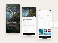 Trippy travel app The Effective Pictures We Offer You About social App Design A quality picture can tell you many things. You can find the most beautiful pictures that can be presented to you about Ap Web Design, App Ui Design, User Interface Design, Graphic Design, Pacific Coast Highway, Ui Design Mobile, Ui Design Inspiration, Design Ideas, Travel Planner