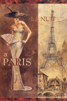 Parisian Poster Art.