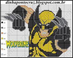 E os meninos mantem a vez garantida no blog rsrsrs Wolverine Batman Homem de Ferro