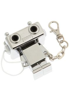 @Maura Cluthe Have I pinned this for you already? It's a headphone splitter for your iPod! #robot
