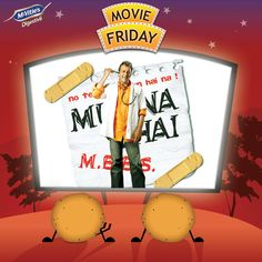 #Munnabhai #MunnabhaiMBBS #SanajayDutt #McVities #McVitiesIndia #McVitiesMovieFriday #Bollywood #SwitchToAHealthyHabit