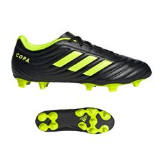 sports shoes 003e6 0e15b adidas Copa 19.4 FG Soccer Shoes (Core Black Solar Yellow)   SoccerEvolution