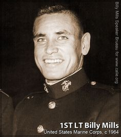 NATIVE AMERICAN INDIAN MILITARY VETERAN — When Billy Mills won his Olympic gold medal in 1964 he was a First Lieutenant in the U.S. Marine Corps (USMC).