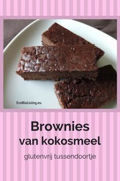 Coconut flour brownies – recipe for gluten-free chocolate brownies – Desserts World Gluten Free Donuts, Gluten Free Snacks, Gluten Free Pumpkin, Healthy Brownies, Healthy Cake, Healthy Baking, Healthy Pie Recipes, Low Carb Recipes, Sweet Recipes