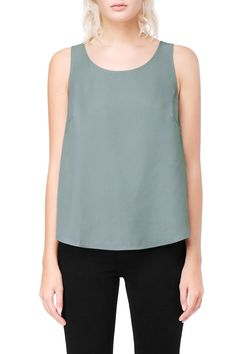 Weekday image 4 of Tank Singlet in Turquoise