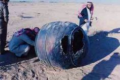 On 21 January 2001, a Delta 2 third stage, known as a PAM-D (Payload Assist Module - Delta), reentered the atmosphere over the Middle East. The titanium motor casing of the PAM-D, weighing about 70 kg, landed in Saudi Arabia about 240 km from the capital of Riyadh.