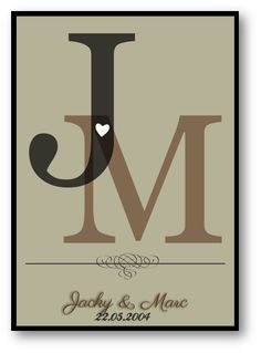 Personalised Prints, Anniversary Dates, Initials, Dating, Canvas Prints, Letters, Country, Creative, Projects