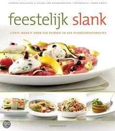Feestelijk slank - L. Wellekens - ISBN 9789002251818. Lichte menu's voor elk seizoen en een vierseizoenenbuffet. Lukt het om een viergangenmenu – aperitiefhapje, voorgerecht, hoofdgerecht en dessert – te bereiden dat in totaal niet meer dan 700 calorieën bevat?