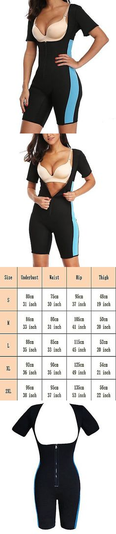Sauna Suits 179812: Sexywg Women Neoprene Sauna Shapewear Sweat Workout Hot Wet Suit Weight Loss -> BUY IT NOW ONLY: $33.58 on eBay!