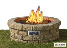 The Hudson Stone DIY fire pit kit is easy to assemble and set up in your own backyard. The Hudson Stone units are durable and will last for years to come. Take the guesswork out of DIY with this gas f