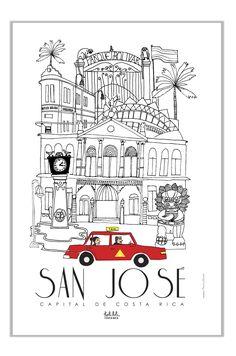 DAY 2: Holalola - San José Poster #illustration #design