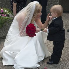 Stephanie indulged in a private moment with her adorable son, Joshua. Photo credit: Nicole Salter Photography.