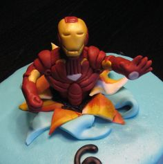 Iron Man Cake Make cake decoration and cake baking easy with these cake tins.