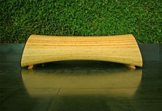 Infinity, banc en bambou