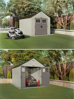 landscape around shed cottage style storage shed outside life pinterest cottage style landscaping and storage