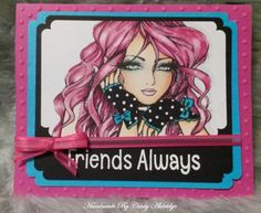 Crafts and Me Stamp Colored with Copic Pens