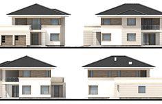 Projekt domu Andromeda NF40, wizualizacja 2