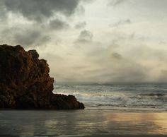 Nature Photography Landscape Photography The Ocean  and Clouds Coast Beach Seascape on Etsy, $20.00