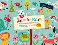 print & pattern: SURTEX 2014 - cinnamon joe