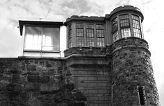 Northwestern Guard Tower at Holmesburg Prison in Philadelphia.