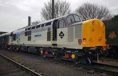 37714 newly repainted in BR Trainload Freight (Metals) livery.