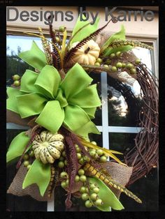 Rusted Treasure: 6 Amazing Fall Wreaths                                                                                                                                                      More