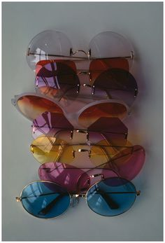 Sunglasses from Glamour, February 1969. Photo by Art Kane.