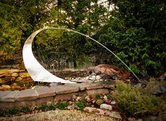 """""""Sound the Alarm"""" Landscape Sculpture"""